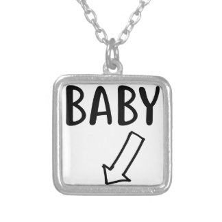 Baby Silver Plated Necklace