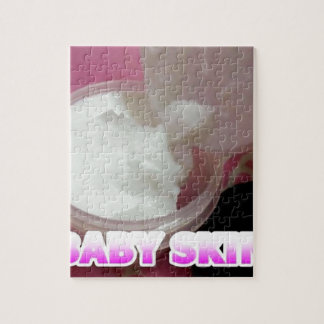 Baby Skin Lotion Jigsaw Puzzle