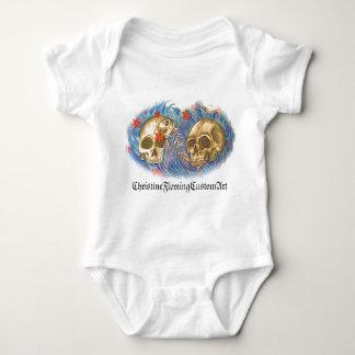 baby sleeper tattoo design t-shirt
