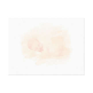 "Baby sleeping Watercolor 24"" x 18"", 1.5"", Single Canvas Print"