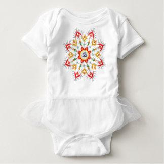 """Baby Sn'owm' flakes"" Baby Bodysuit"