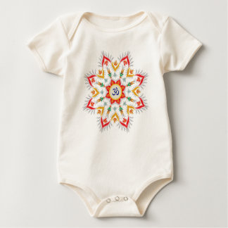 """Baby Sn'owm' flakes"" outfits Baby Bodysuit"