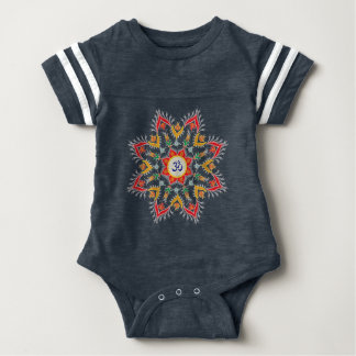 """""""Baby Sn'owm' flakes"""" outfits Baby Bodysuit"""