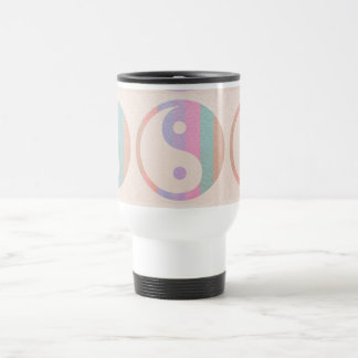 Baby Soft Silken Spectrum  : YINYANG YIN YANG 15 Oz Stainless Steel Travel Mug