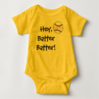 Baby Softball Fan Gear Baby Bodysuit