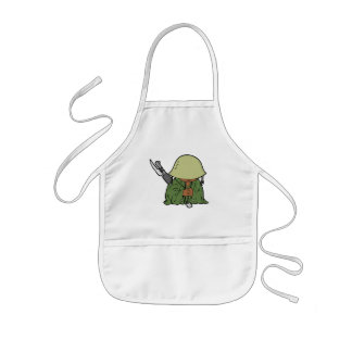 Baby Soldier Aprons