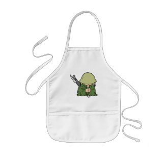 Baby Soldier Kids Apron