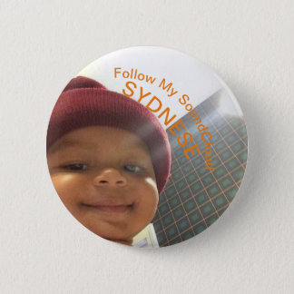 Baby SoundCloud 2 Inch Round Button