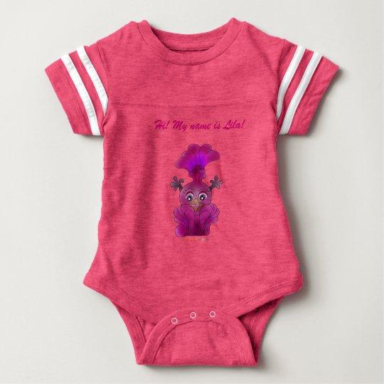 """Baby Sports Body """"Lila"""" Baby Bodysuit"""