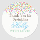 Baby Sprinkle Favour Stickers