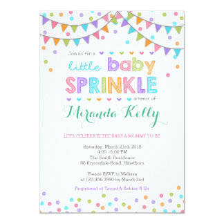 Baby Sprinkle Invitation / Baby Sprinkle Invite