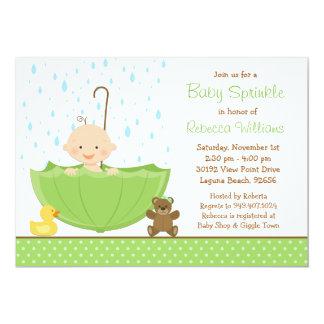 Baby Sprinkle Shower Invitation Gender Neutral