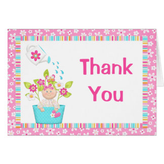 Baby Sprinkle Thank You Card