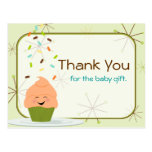 Baby Sprinkle Thank You Gender Neutral Postcard