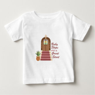 Baby Steps Baby T-Shirt
