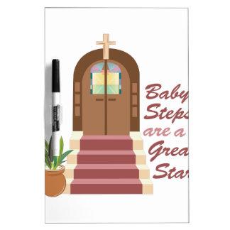 Baby Steps Dry-Erase Whiteboard