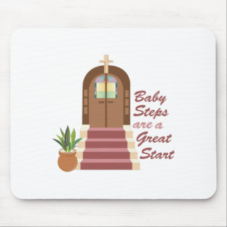 Baby Steps Mouse Pad