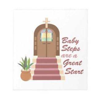 Baby Steps Notepad