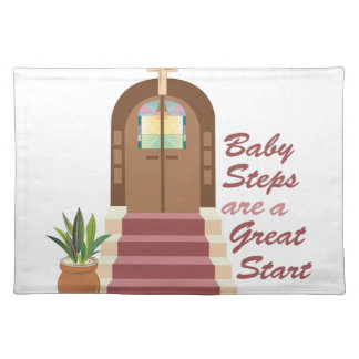 Baby Steps Placemat