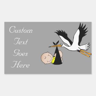 Baby Stork - Bundle of Joy Stickers