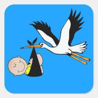 Baby Stork - Bundle of Joy Sticker