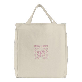 Baby Stuff - Embroidered Bag Pink