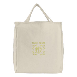Baby Stuff - Embroidered Bag Yellow
