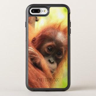 Baby Sumatran Orangutan OtterBox Symmetry iPhone 7 Plus Case