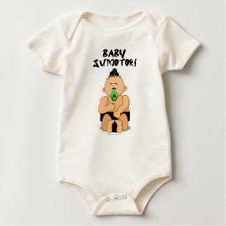 Baby Sumo Wrestler Organic Baby Bodysuit