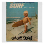 baby surf, Baby Surf Poster