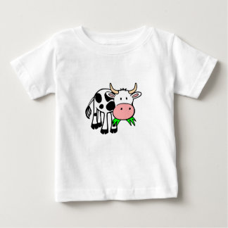 """Baby T-shirt knows """"motive for cow """""""