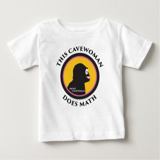 Baby T-Shirt This Smart Cavewoman Does Math