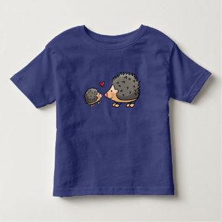 Baby t-shirt with egeltjes