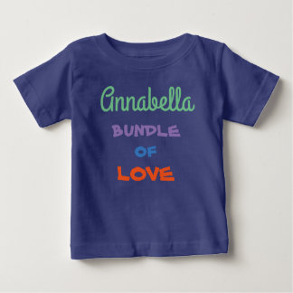 BABY T-SHIRTS TEES colorful personalized NAME