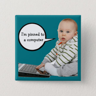 Baby Talk Customize 2 Inch Square Button