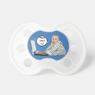 Baby Talk Customize Baby Pacifier