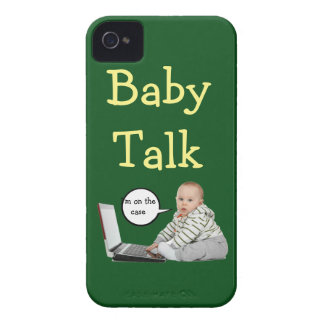 Baby Talk Customize iPhone 4 Cases