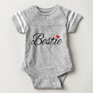 Baby Team Bestie Jersey Baby Bodysuit