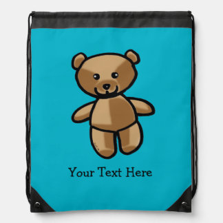 baby teddy bear toy cinch bags