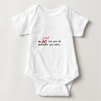 Baby tee for the independent Baby