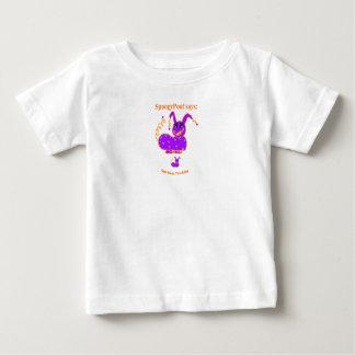 Baby Tee Jersey Shirt White Purple Orange