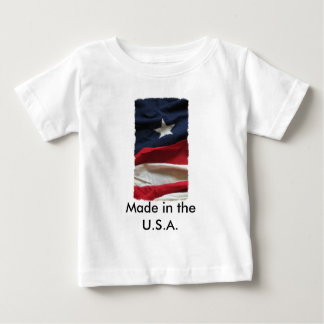 Baby Tee ~ Made in the U.S.A.