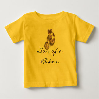 Baby tee-, Son of a Biker Baby T-Shirt
