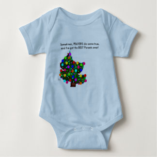 Baby Tee's - Prayer's are like Portion's Baby Bodysuit