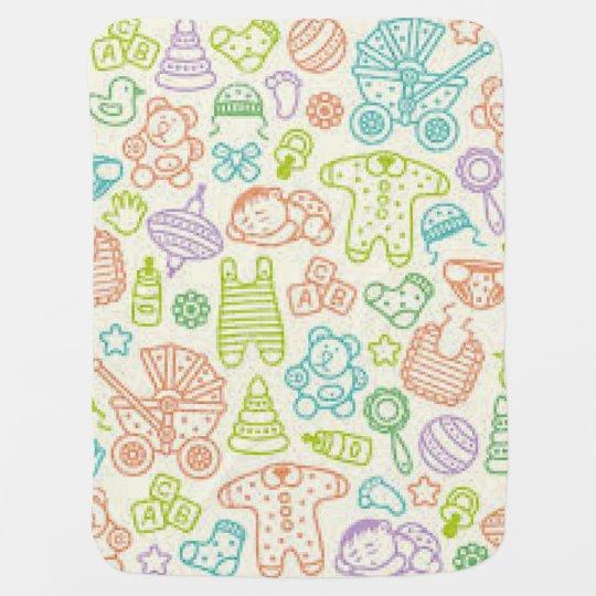 Baby Theme Baby Blanket