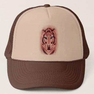 *Baby Tiger Cub* portrait Design Trucker Hat