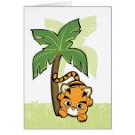 Baby Tiger Cutie Greeting Card