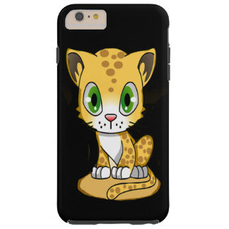 Baby Tiger Kitty Tough iPhone 6 Plus Case