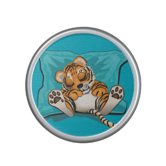 Baby tiger sleeping bluetooth speaker
