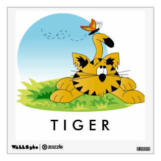 Baby Tiger Wall Decal